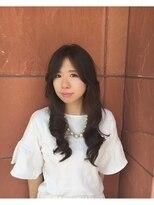 シャンプーボーイ 宮崎駅前店(SHAMPOO BOY)ふんわり巻き髪風スタイル^^~アッシュカラーで透明感を~