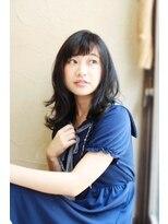 【ToukoaRua】小顔前髪とダークグレージュの外巻きロブ!