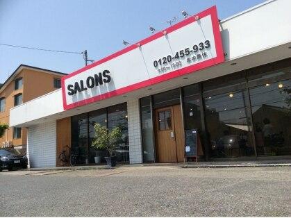 サロンズヘアー 中納言店(SALONS HAIR)の写真