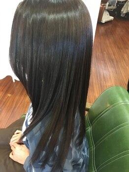スイッチスタイル(SWITCHSTYLE)の写真/ハリウッドセレブも注目の[ハリスノフトリートメント]ケラチンブローアウト回数を重ねる度に髪が美しくなる