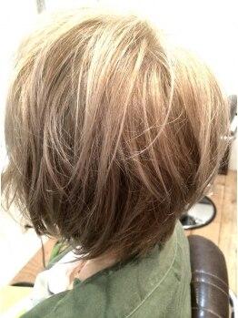 ヘアラウンジ プレイ(Hair Lounge PLAY)の写真/PLAYが誇るプロの技術で叶う貴方に似合うヘアカラー♪トレンドカラーから白髪染めまで幅広い年代の方に◎
