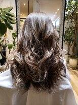 ヘアー ポッシュ(Hair POSH)グレージュ系グラデーションカラー