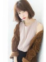 ログヘアー 大塚北口店(L.O.G hair)カジュアルパーマボブ【大塚/池袋/新大塚】