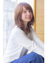 ラフ フロム ガーデン(Laf from GARDEN)【Ramie寺尾拓巳】大人かわいいイルミナカラーくびれセミディ