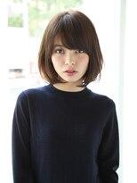 【Un ami】大人かわいい・小顔ナチュラルボブ 松井 幸裕
