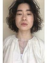 マノ 千歳烏山(MaNO)パーマ、くせ毛スタイル