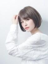 オーブ ヘアー アムール 学芸大学店(AUBE HAIR amour)【AUBE HAIR】レイヤーボブ_シアグレーアッシュ