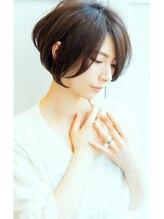 リル ヘアーデザイン(Rire hair design)【Rire-リル銀座-】ふんわりくせ毛風☆エレガントショートボブ