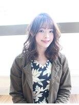 ファースト 長町店(first)【first長町】大人女子☆シフォンベージュセミロング