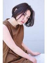 イロドリ ヘアーデザイン(IRODORI hair design)IRODORI 大人可愛いミニボブ3 [西尾一寛]