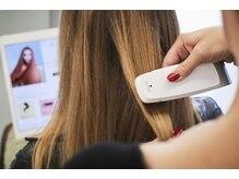 ☆世界初☆国内限定100台の髪質診断マシン「スマートアナライザー」♪