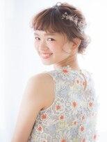 【aRietta】フィッシュボーンで大人かわいい二次会アレンジ .