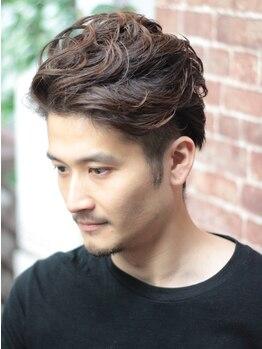 ディアス(DIAS)の写真/【メンズカット+スキャルプシャンプー¥3000】頭皮環境を整え、自分でもキマりやすいスタイルに!!