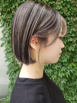アロー(arrow)ハイライト&インナーカラー【moemi】