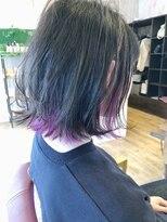 ヘアーサロン リアン 熊谷2号店(hair salon Rien)#インナーカラー#外ハネボブ