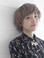 【OREO.】くせ毛風パーマでつくるマッシュヘアー  3Dカラー