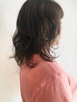 ヘア ミール(hair mirle)ミディアムレイヤー