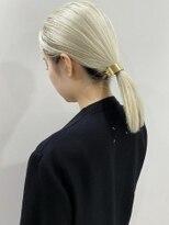 シキナ(sikina)【ナカムラ_design】ホワイトブロンドヘア
