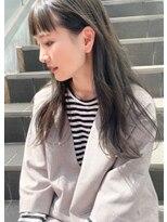 キアラ(Kchiara)暗髪にするならアッシュグレー!【福岡大名kchiara小宮晴香】