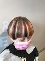 ビスヘアアンドメイク(BIS hair&make)鮮やかマッシュ