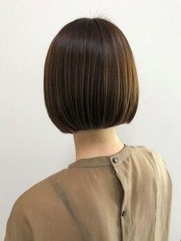 ピエールヘアーマーケット(Pierre Hair Market)の写真/《自宅でもサロン帰りの仕上り♪》動くたびに表情が変わる…アナタの魅力を輝かせるStyleを見つけられる☆
