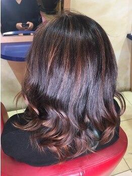ヘアメイク エンデュー(hair make EnDeux)の写真/植物エキス配合の髪と頭皮に優しいグレイカラー使用◎理想のスタイルを楽しめるグレイカラーが人気です!