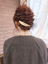 アリス ヘア デザイン(Alice Hair Design)Alice☆編み込み×リーフアレンジ