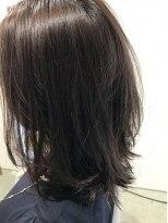 リアン ヘアー(Lien hair)赤色を感じさせるパープル系カラー