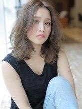 アグ ヘアー フラワー 葛西店(Agu hair flower)美発色◎小顔に見える透けカラーヘア