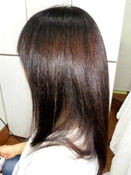 スタジオ ティーウェーブ(S.T.WAVE)の写真/クセやうねり、乾燥が気になる方にお勧め☆一人一人のお悩みに合わせた施術で髪の毛をきれいに見せます♪