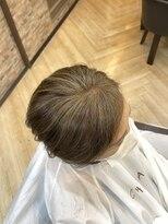 キャラ 池袋本店(CHARA)[脱白髪染め】白髪ぼかしハイライトで明るい髪に【白髪ぼかし】