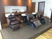 ヘアースタジオ アビィ(Hair Studio A Be)の雰囲気(ゆったり椅子でシャンプー中もリラックス♪)
