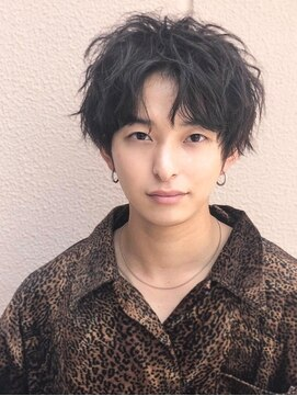 アグ ヘアー ビヨンド 戸塚店(Agu hair beyond)《Agu hair》ラフウェーブショート