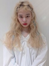 フェブヘアショップ(fev hair shop)【fev Koharu】girly arrange