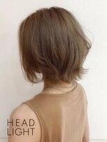 フローレス バイ ヘッドライト 三鷹店(hair flores by HEADLIGHT)ベージュ×外ハネショート_SP20210201
