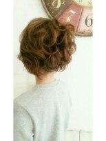 盛り髪(盛りヘア)のカール×ふわっ盛り髪っっっ画像