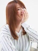 さらりと質感で振り返り美人☆ストレート重軽セミディ☆