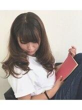 プライベート ヘアーサロン アイリス(Private Hair Salon Iris)【秋冬のトレンド】×【透け感】ブルージュカラー 秋髪♪