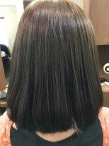 ヘアーメイク プリュム(Hair make Plume)濃厚アッシュ×ボブ