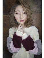 シエン(CIEN by ar hair)CIEN by ar hair片瀬『浜松可愛い』グレイジュ+外ハネロブ♪