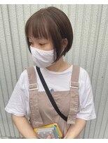ネオヘアー 東向島店(NEO Hair)ぷっつんオン眉ショート