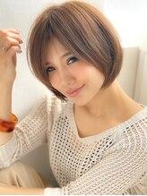 アグ ヘアー ボンド 六名店(Agu hair bond)《Agu hair》王道☆大人かわいい小顔ショートボブ