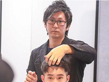 トコヤ ニュースタンダード オブ メンズヘアサロン(tokoya)の写真/くせ毛や薄くなってきた髪でセットしにくい方にも大人気!男性特化のプロの技術で最上級のスタイルをご提供