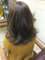 ファシオ ヘア デザイン(faccio hair design)イルミナカラー☆グレージュ