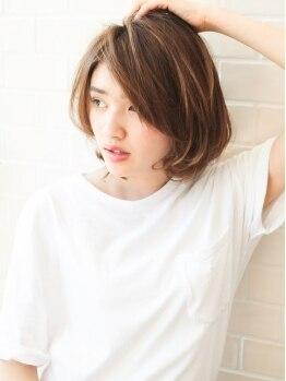 オアシスオーガニックビューティーサロン(oasis organic beauty salon)の写真/オーガニックカラーで美しい髪へ♪髪と地肌に優しい天然成分配合!!ダメージを与えずにツヤカラーへ☆