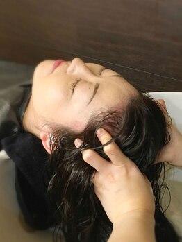 ベック(BECK)の写真/抜毛、乾燥、脂性などの悩みがある方必見!癒されながらキレイに変身☆≪BECK≫での素敵なひとときを…♪