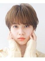 【LIPPS銀座】(安田愛佳)大人可愛い小顔丸みマッシュショート