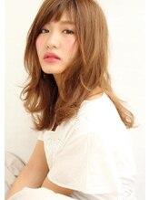 ヘアラウンジ ソレイユ 六本木本店(HAIR LOUNGE Soleil)毛先ゆるふわかわいいナチュラルウェーブ.