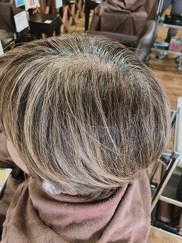 カクレガ(KAKUREGA)の写真/【髪で見た目年齢を変える!】ずっとキレイでいたい大人女性の頼れるサロン☆