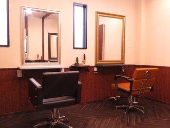 """アマラ 立川(amara)の写真/ずっと探してた通い続けたくなるサロン""""amara 立川""""マンツーマンの施術で、最高のヘアスタイルをご提供★"""